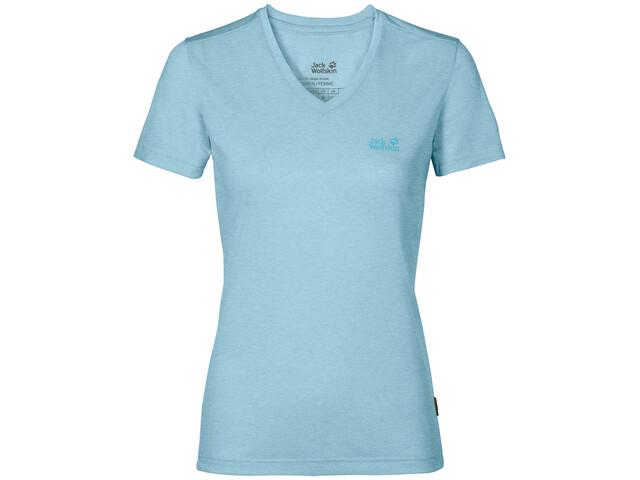 Jack Wolfskin Crosstrail T-Shirt Femme, stratosphere